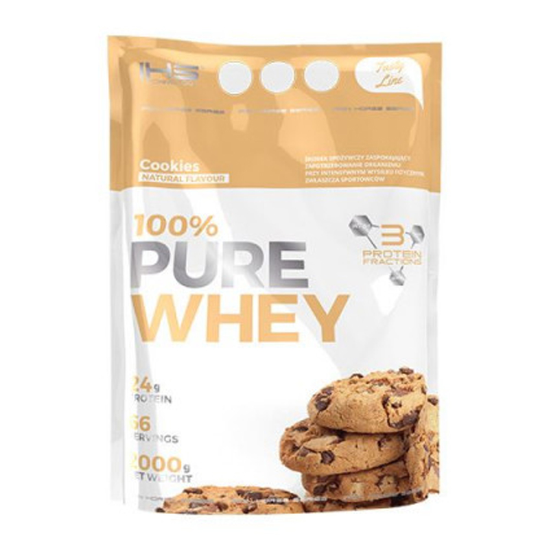100% Pure Whey Protein 2000g - cookies