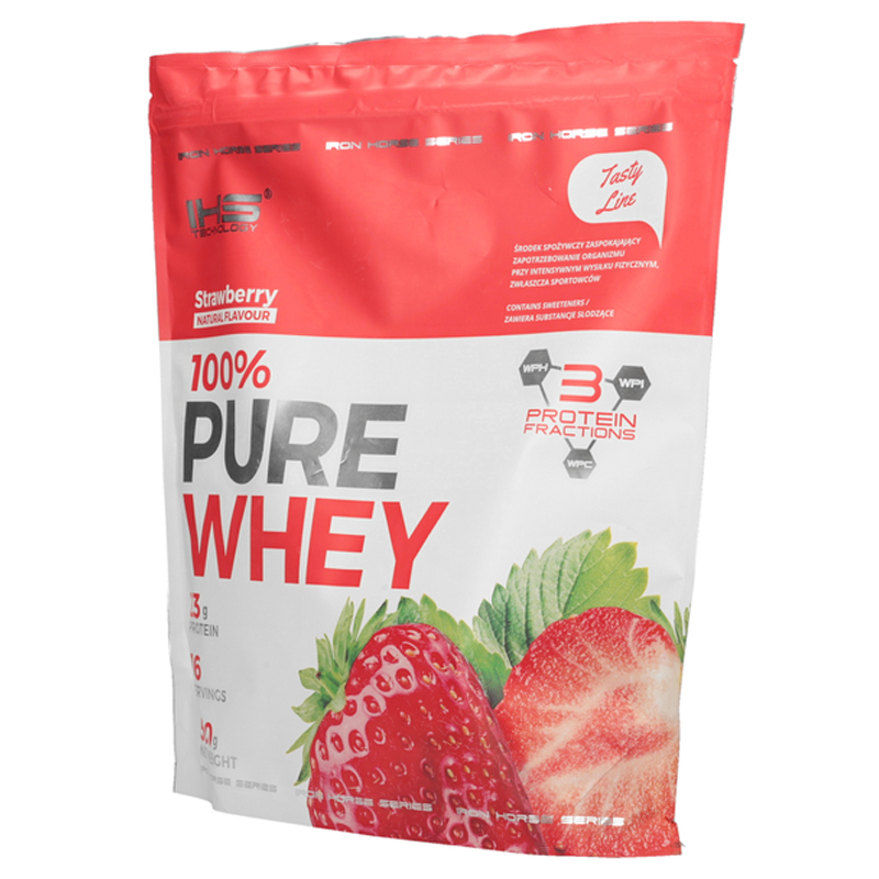 100% Pure Whey Protein 500g - jahoda