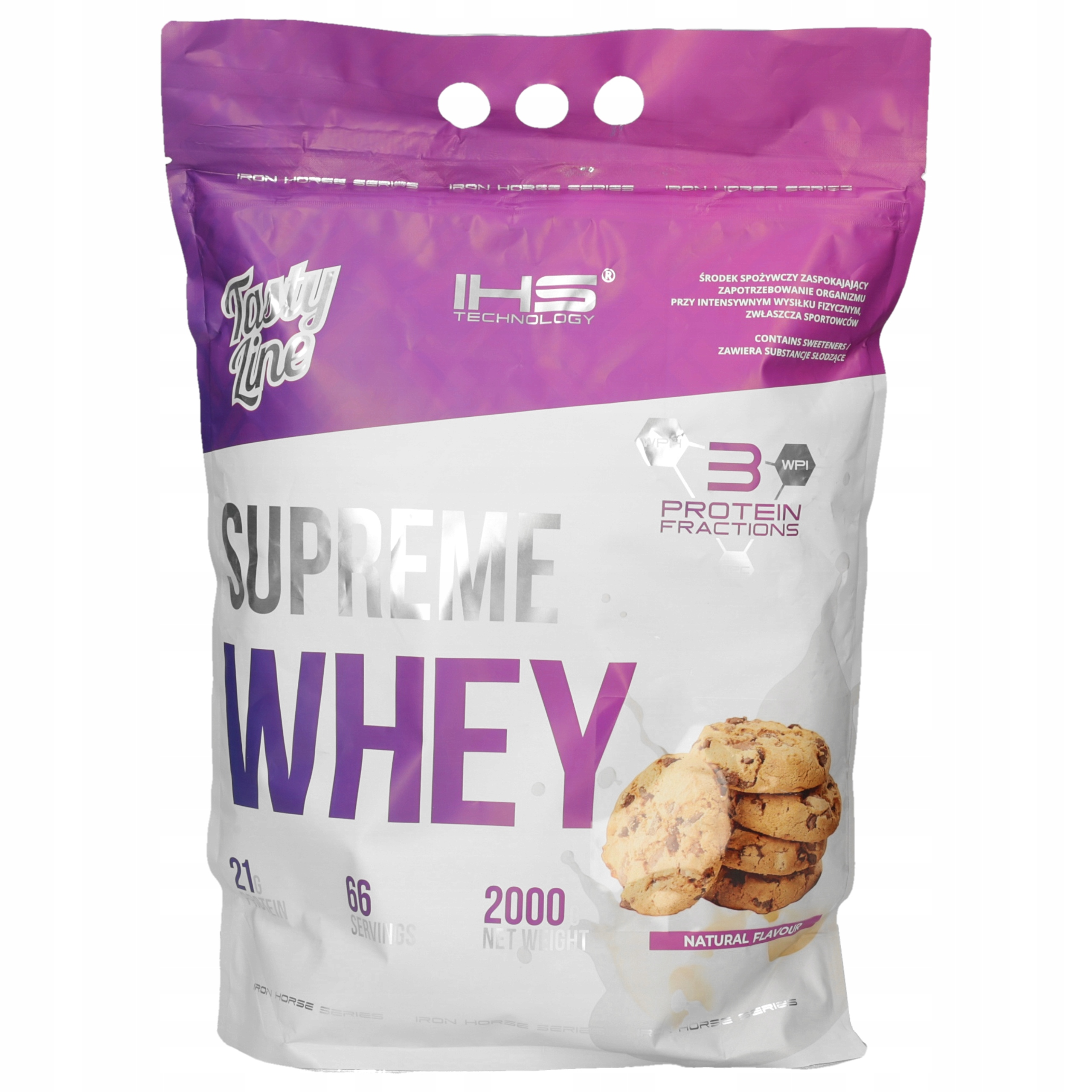 Supreme 100% Whey Protein 2000g - cookies