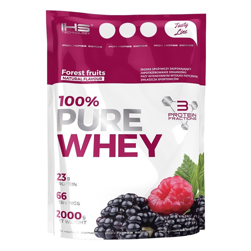 100% Pure Whey Protein 2000g - lesní ovoce