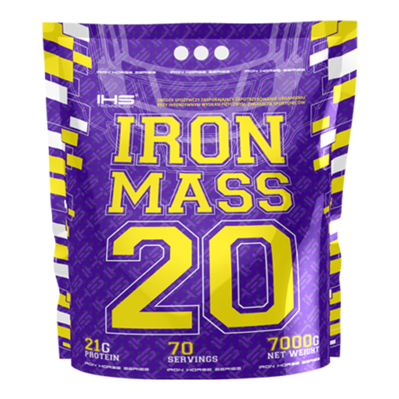 Gainer IRON MASS 7000g - čokoláda
