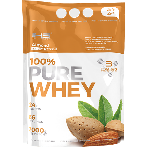 100% Pure Whey Protein 2000g - mandle
