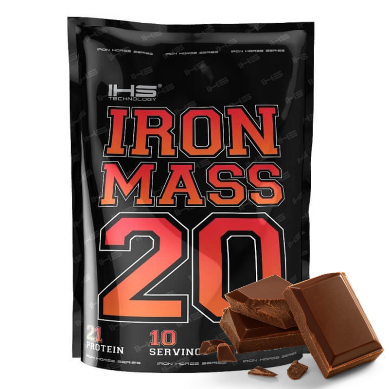 Gainer IRON MASS 1000g - čokoláda