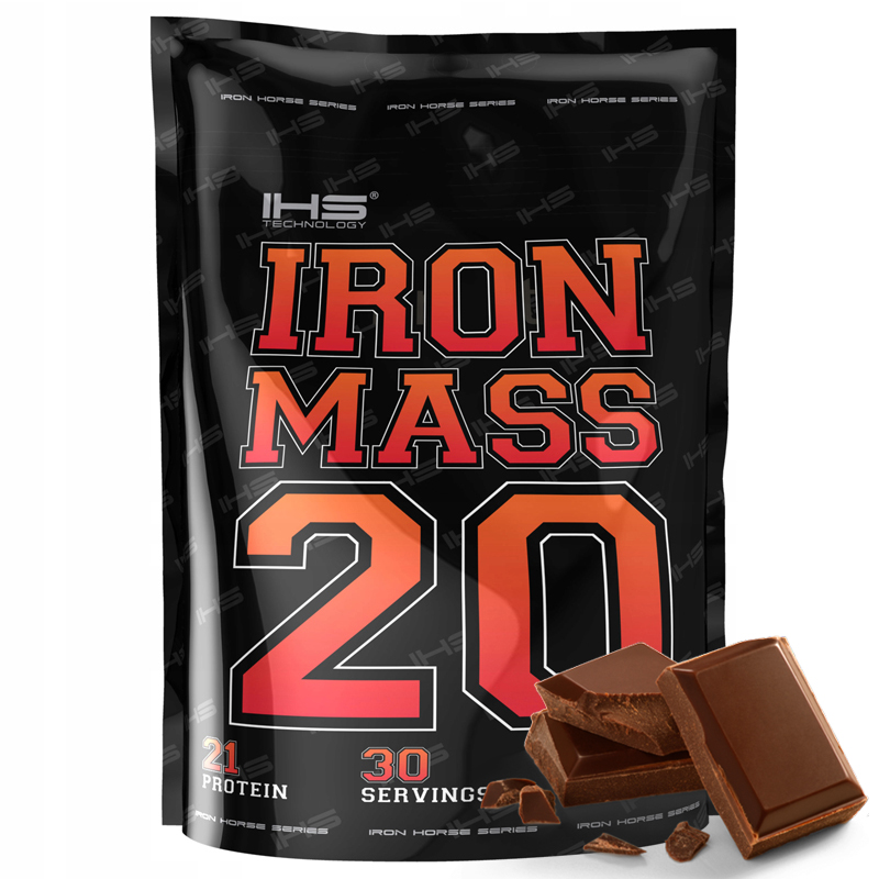 Gainer IRON MASS 3000g - čokoláda
