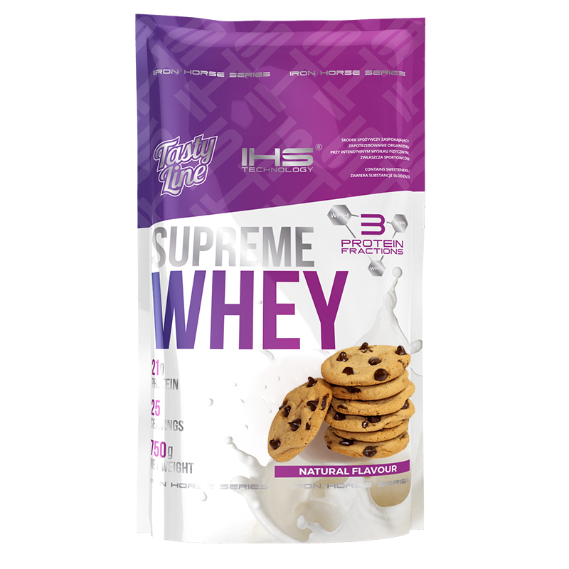 Supreme 100% Whey Protein 750g - cookies