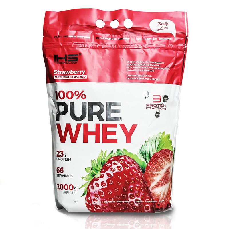 100% Pure Whey Protein 2000g - jahoda