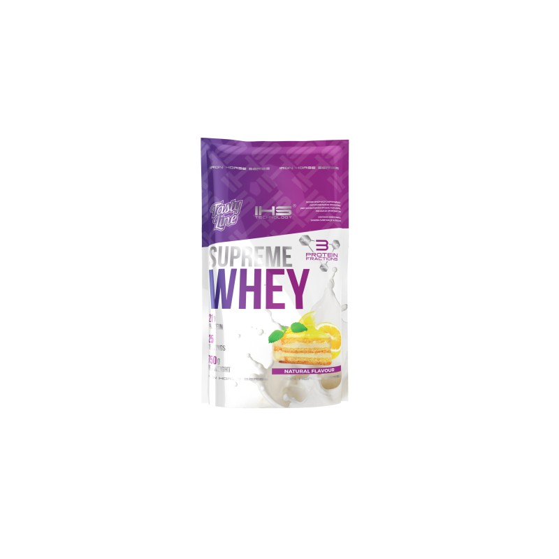Supreme 100% Whey Protein 750g - citronový cheesecake