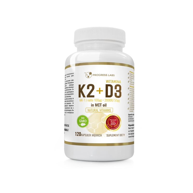 Vitamin K2 + D3 (120 tablet)